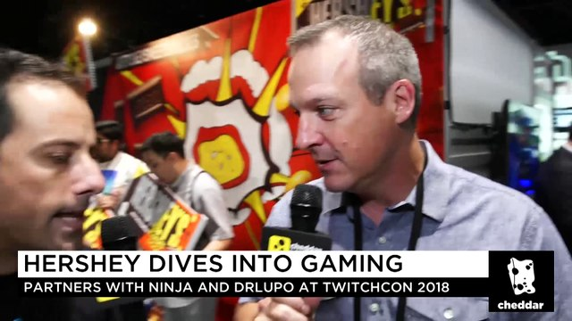 Hershey's Partners With Ninja and DrLupo in Esports Push