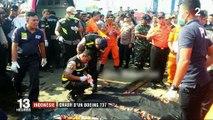 Indonésie : crash d'un Boeing 737 avec 189 personnes à bord