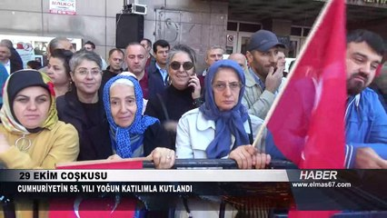 Cumhuriyet kutlamalarında Ahmet Çınar farkı!