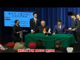 PM Modi and Japanese PM Shinzo Abe signed and exchange MoUs between India and Japan in Tokyo