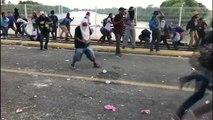 Caravane des migrants : clash à la frontière entre le Guatemala et le Mexique