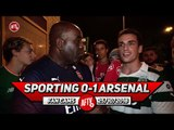 Sporting Lisbon 0-1 Arsenal | Guendouzi Was Excellent But Our Team Is A Shambless!! (Sporting Fan)