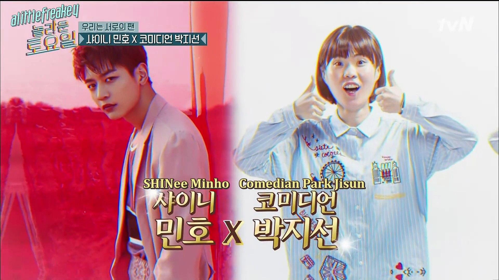 181020 Amazing Saturday (Eng Sub) Part 1/2 - SHINee Key & Minho