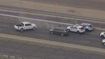 Schießerei auf der Autobahn - Verdächtiger stirbt nach Verfolgungsjagd