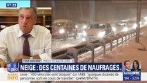 """Neige : Selon le préfet, il y a toujours """"plusieurs centaines de véhicules bloqués"""" en Haute-Loire"""
