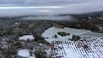 Les Alpes-de-Haute-Provence se réveillent sous la neige
