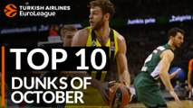 Turkish Airlines EuroLeague, Top 10 Dunks of October