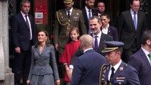 La princesa Leonor debuta con sus primeras palabras en su 13º cumpleaños