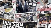 Le communiqué du Real Madrid sur Lopetegui choque l'Espagne, l'hommage de Mahrez à Vichai Srivaddhanaprabha émeut la presse anglaise