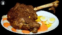 Roasted Bakray Ki Raan Without Oven - Mutton Leg Roast Recipe by Kitchen With Amna