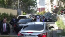 Suudi Savcı, Suudi Arabistan Başkonsolosluğu'na geldi