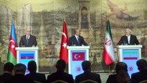 Türkiye-Azerbaycan-İran Üçlü Dışişleri Bakanları Toplantısı - Mevlüt Çavuşoğlu - İSTANBUL