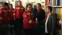 Türkiye'nin İlk Yerli Fatih Sondaj Gemisi'nde Enerji ve Tabii Kaynaklar Bakanı Fatih Dönmez...
