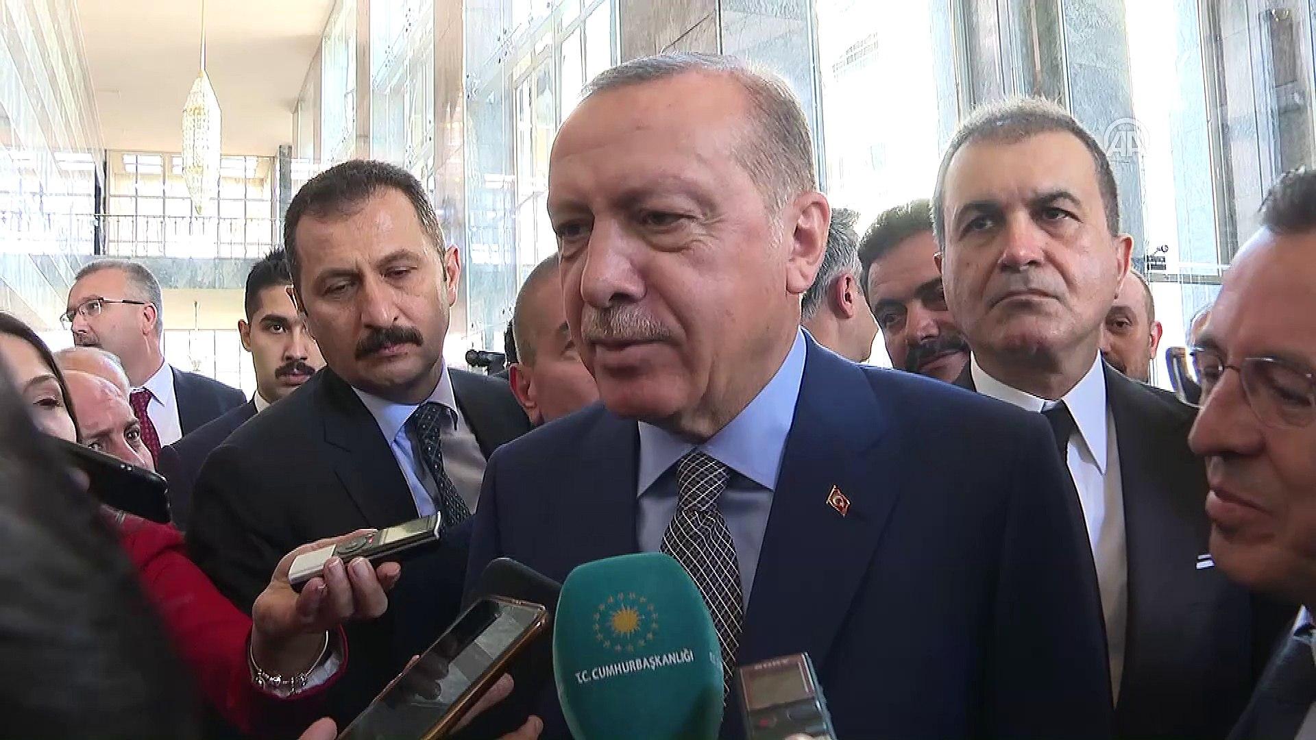 Cumhurbaşkanı Erdoğan: '(Melih Gökçek) Melih bey benim 94'ten beri yol ve dava arkadaşım&#