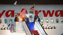 Historic Kenya Airways direct flight to U.S. arrives in New York