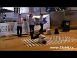 Freestyle Breakdancers at The Leeds Street Food Festival