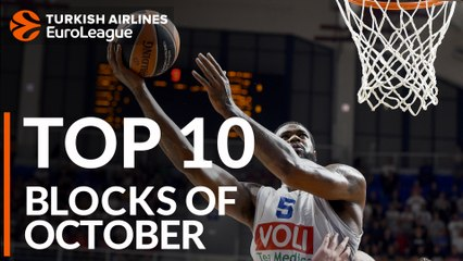 Turkish Airlines EuroLeague, Top 10 Blocks of October