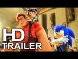 WRECK IT RALPH 2 (FIRST LOOK - Sonic The Hedgehog Trailer #2 NEW) 2018 Animated Movie HD