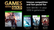 """Xbox Games with Gold - """"November 2018"""" Trailer"""