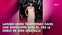 Florence Foresti interdit les téléphones portables durant son prochain spectacle