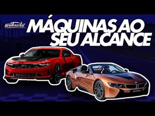 Estrelas do Salão! Tudo sobre os novos e animais Chevrolet Camaro e BMW i8 Roadster - AceleNews #115
