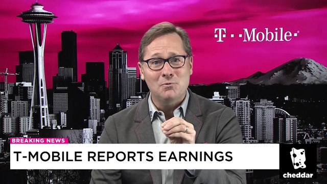 T-Mobile President Mike Sievert Reacts to Earnings on Cheddar
