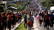 """Migrantes centroamericanos """"de paso"""" por México"""