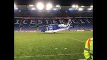 Relembre imagens do acidente com o helicóptero do dono do Leicester
