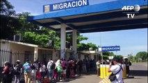 Migrantes salvadoreños cruzarán frontera mexicana hacia EEUU