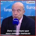 « Nous sommes menacés de tous côtés, il faut une campagne offensive pour l'Europe », avertit Alain Juppé