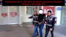 Kameraya Yakalanan Kablo Hırsızları Yakalandı