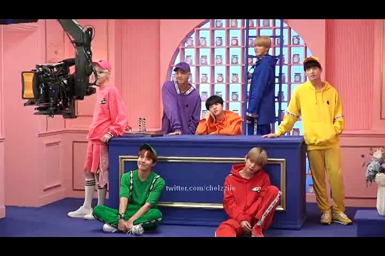 [ENGSUB] BTS 4th MUSTER - VCR Shooting Making - video dailymotion