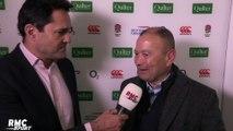 """Eddie Jones (sélection XV de la Rose) : """"Un bon test match"""""""