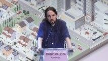 Pablo Iglesias en el gran encuentro municipalista