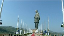 India's Statue of Unity claims title of world's tallest statue