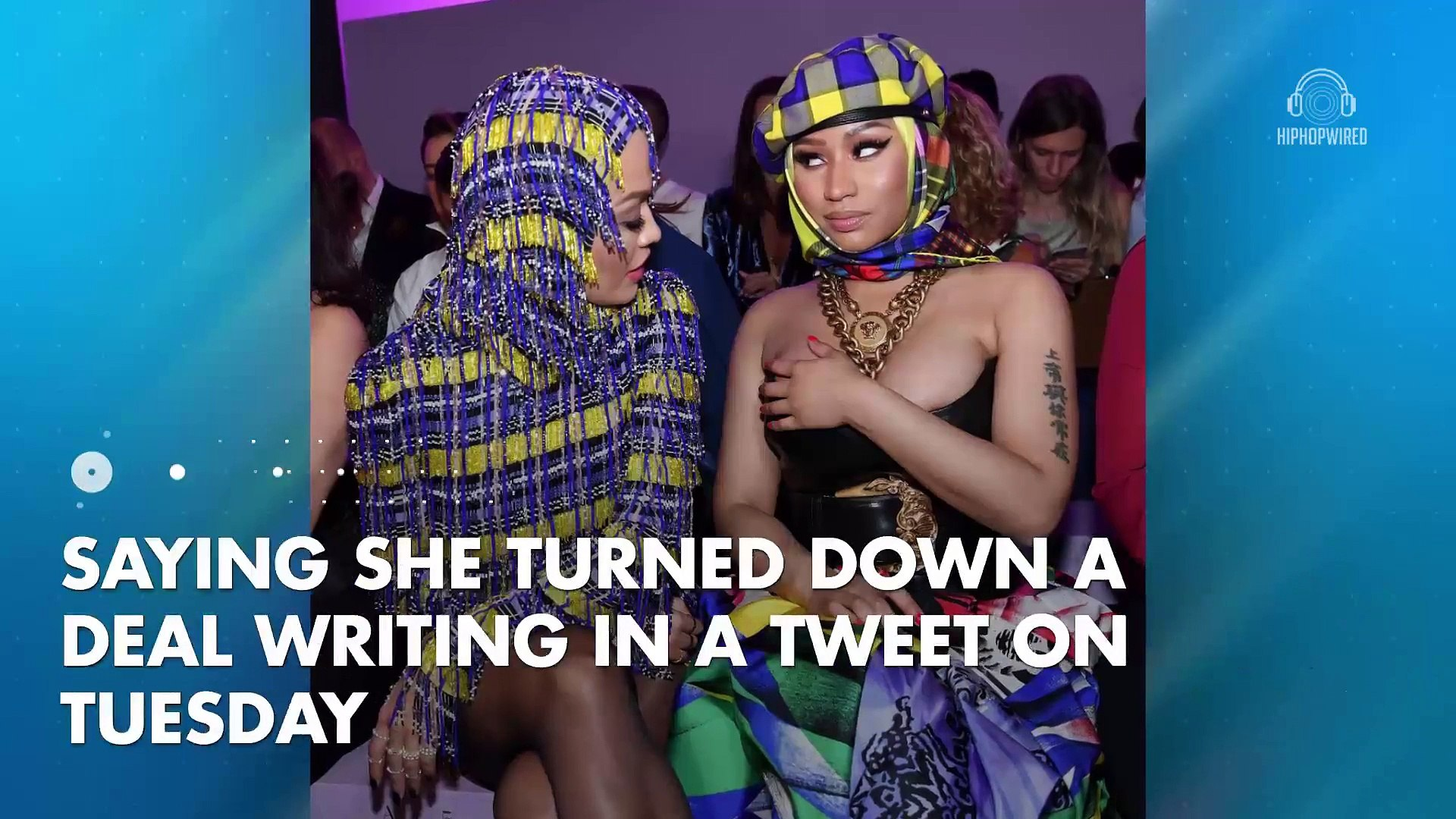 Nicki Minaj Puts Steve Madden In Her Crosshairs After Snarky Tweet