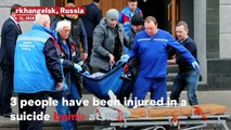 17-year-old Boy Blows Himself Up Inside Russia's Main Intelligence Agency Building