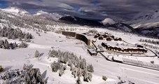 Hautes-Alpes : paysage féerique dans le Dévoluy après les premières chutes de neige