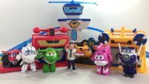 Super Wings Jett's Runway + Donnie's House Playset Auldey 출동슈퍼윙스 || Keith's Toy Box