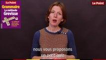 Grammaire : quand la langue nous joue des tours... avec la conjugaison