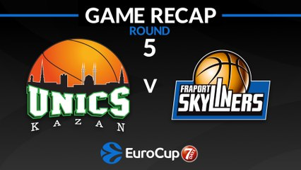 7Days EuroCup Highlights Regular Season, Round 5: UNICS 83-80 Skyliners