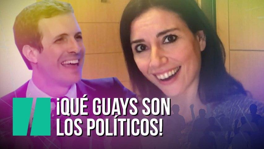 """""""¡Qué guays son los políticos!"""", por Marta Flich"""