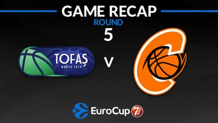 7Days EuroCup Highlights Regular Season, Round 5: Tofas 94-89 Cedevita