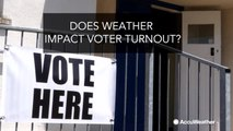 Does weather impact voter turnout?