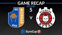 Highlights: Mornar Bar - Rytas Vinius