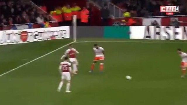 Stephan Lichtsteiner Goal HD - Arsenal1-0Blackpool 31.10.2018