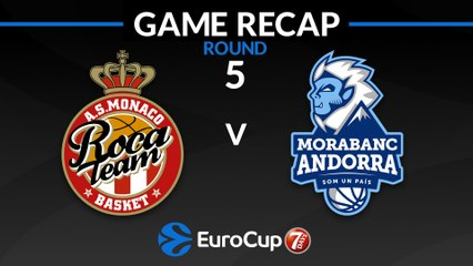 7Days EuroCup Highlights Regular Season, Round 5: Monaco 81-73 Andorra
