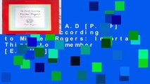 D.O.W.N.L.O.A.D [P.D.F] The World According to Mister Rogers: Important Things to Remember [E.P.U.B]