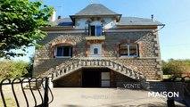 CORREZE. Beaumont. Belle maison de 4 chambres avec grand garage, sous-sol, entourée d'un jardin de 1664m2. Emplacement de campagne