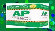 D.O.W.N.L.O.A.D [P.D.F] Barron s AP Psychology Flash Cards [E.B.O.O.K]
